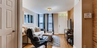Tuesdays Under 250: Spacious Two-Bedroom Rowhome on Quiet Federal Hill Block