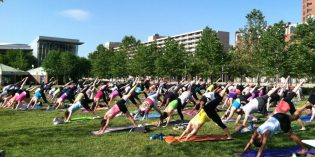Free Outdoor Fitness Classes Begin This Week at the Inner Harbor