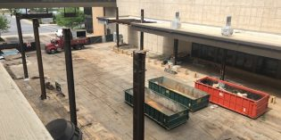 10,500 Sq. Ft. Outdoor Gaming Terrace Under Construction at Horseshoe Casino Baltimore