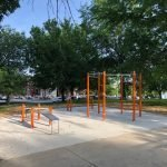 New Exercise Equipment Areas Now Open at Riverside Park
