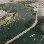 Middle Branch Waterfront Master Plan Aims to Turn Hanover Street Bridge into a Park