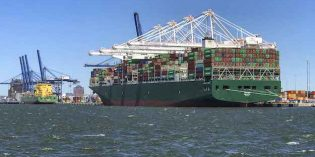 Port of Baltimore Welcomed Its Largest Ship Ever Last Week