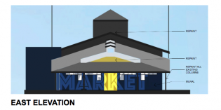 Phase 1 of Improvements Begin on Hollins Market
