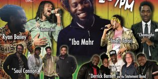 Chant Down Baltimore: Free Roots Reggae Concert in Carroll Park Today from 1pm-7pm