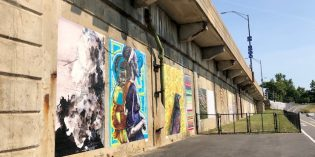 The Hanover Street Gallery Brings Artwork to the Vietnam Veteran's Memorial Bridge