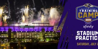 Ravens to Host Practice and Fireworks & Laser Show at M&T Bank Stadium on Saturday