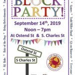 Second Annual South Baltimore Neighborhood Association Block Party on September 14th