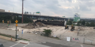 Demolition Begins on the 1800 and 1900 Blocks of South Hanover Street