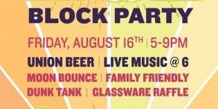 World of Beer Sumer Block Party Featuring Union on Friday, August 16th