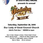 Catholic Community of South Baltimore Oktoberfest on September 28th