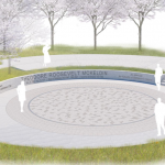 Construction Underway on New Water Feature at McKeldin Square