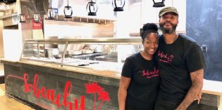 Haitian Food Stall 'Sobeachy' Opens at Cross Street Market