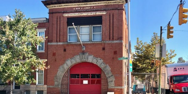 Baltimore City Fire Department Property on Hanover Street to House Medic Units After Renovation