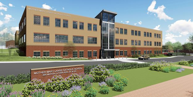 New Catholic School Breaks Ground on Martin Luther King Boulevard