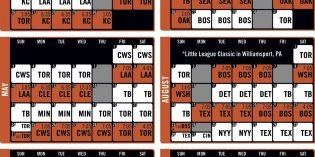 Orioles Release 2020 Schedule with Earlier Start Times on School Nights