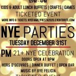 Little Havana Hosting a Kids Party and Adult Party on New Year's Eve and New Year's Day Brunch
