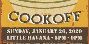 Federal Hill South Chili Cook Off on Sunday, January 26th at Little Havana