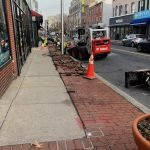 Brick Sidewalks on Light Street Getting Redone