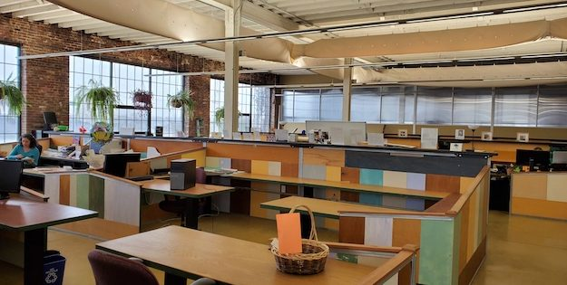 Commercial Spotlight: 6,000 sq. ft. of Eco-Friendly, Loft Office Space Available in South Baltimore