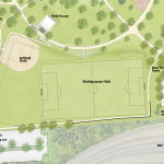 Preliminary Work Begins for Athletic Facility Renovations at Riverside Park