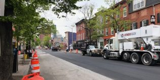 Charles Street in Federal Hill Repaved as Gas Line Work is Completed