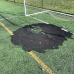 Fire Caused by Fireworks Damages Turf at Banner Field
