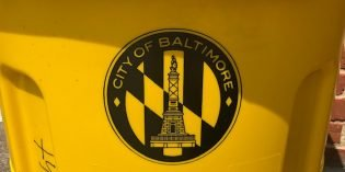 Baltimore City Recycling Collection Suspended for Three Weeks Due to COVID-19 Outbreak