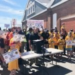 Rally Held to Save Baltimore City Fire Department Engine 55 in Pigtown