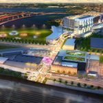 Renderings Revealed for Horseshoe Casino's 'Warner Street District'