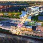 Renderings Revealed for Horseshoe Casino's 'Warner Street District'
