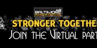 The Baltimore Running Festival Will Be Virtual This Year
