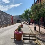 New Outdoor Dining in Federal Hill, Including a Partially-Closed Cross Street