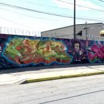New Graffiti Murals Added to Industrial Properties in Carroll-Camden