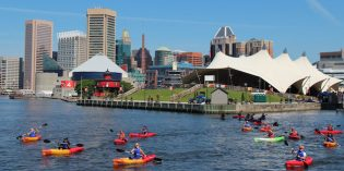 Waterfront Partnership Relaunches its Inner Harbor Kayak Tours
