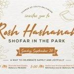 Rosh Hashanah Shofar in the Park This Sunday at Riverside Park and the HarborView Promenade