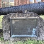 Military Monument in Port Covington Donated to the Society of the War of 1812 in Maryland