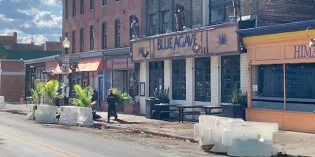 Car Crashes into Blue Agave's Parklet Dining Space