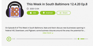 Podcast: This Week in South Baltimore Episode 8