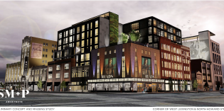 Mixed-Use Development Planned for Long-Vacant, Former 'Super Block' Properties Downtown