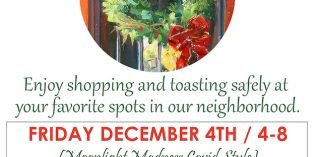 COVID-Style Moonlight Madness and Shopping Stroll this Weekend in Federal Hill