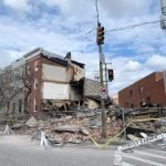 Vacant Commercial Property Collapses in Pigtown