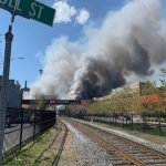 Domino Sugar's Raw Sugar Shed Catches Fire, Collapses