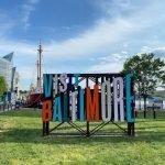 New 'Visit Baltimore' Scuplture Added to the Inner Harbor
