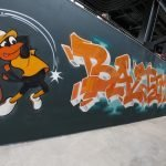 Graffiti Mural Added to Oriole Park at Camden Yards