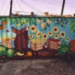 New 'Bob the Groundhog' Mural Added to the Pigtown Community Garden