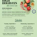 Chabad of SoBo Announces Rosh Hashana Programming