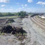 Trees and Tracks Removed from CSX Yard in Locust Point