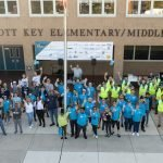 Volunteers Make Improvements to Francis Scott Key Elementary/Middle School during Silo Point Service Day